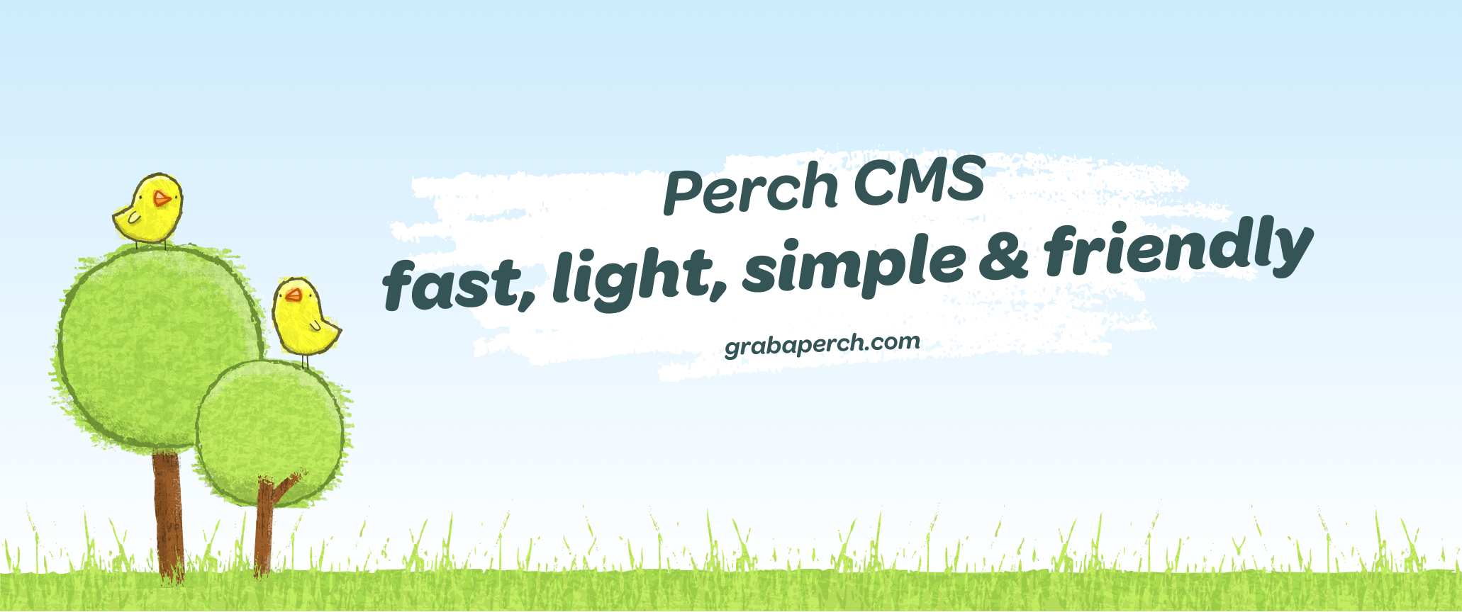 Perch CMS - built for speed and simplicity
