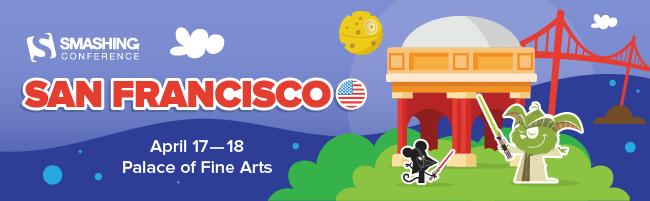 SmashingConf is coming to San Francisco again!