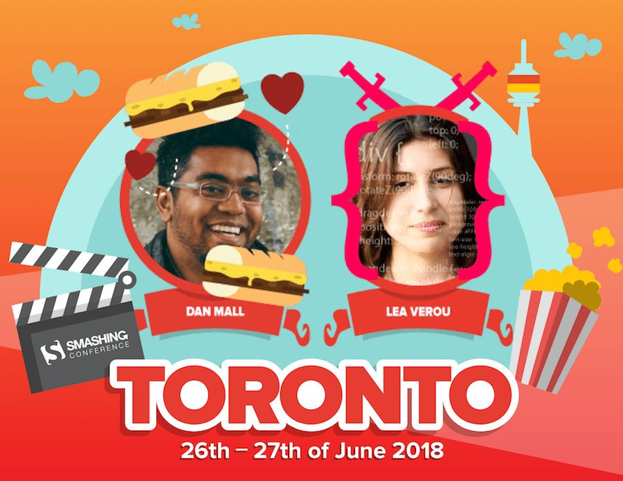 SmashingConf Toronto (June 26-27)