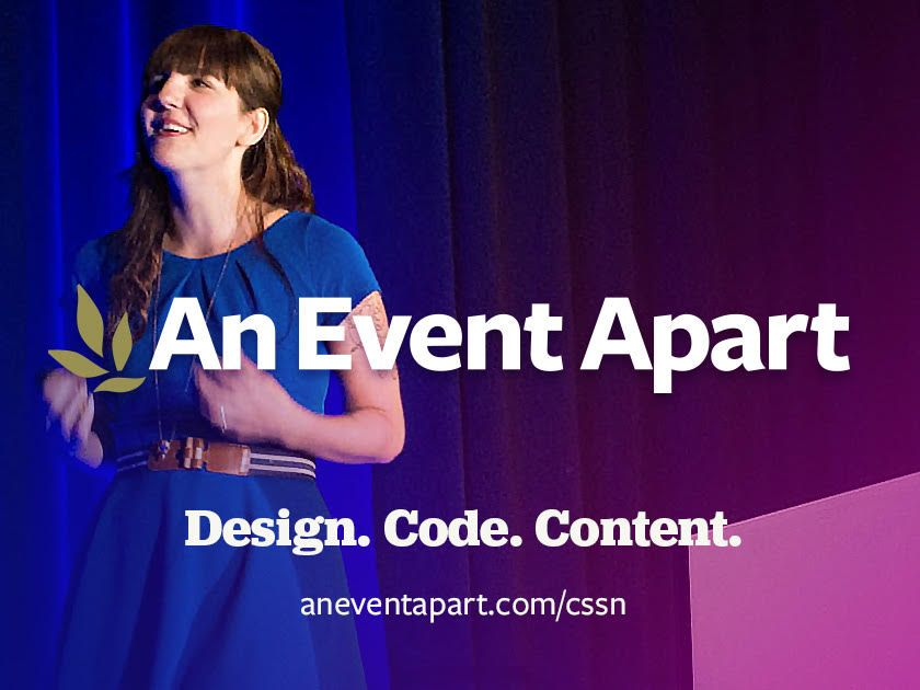 Why attend An Event Apart?