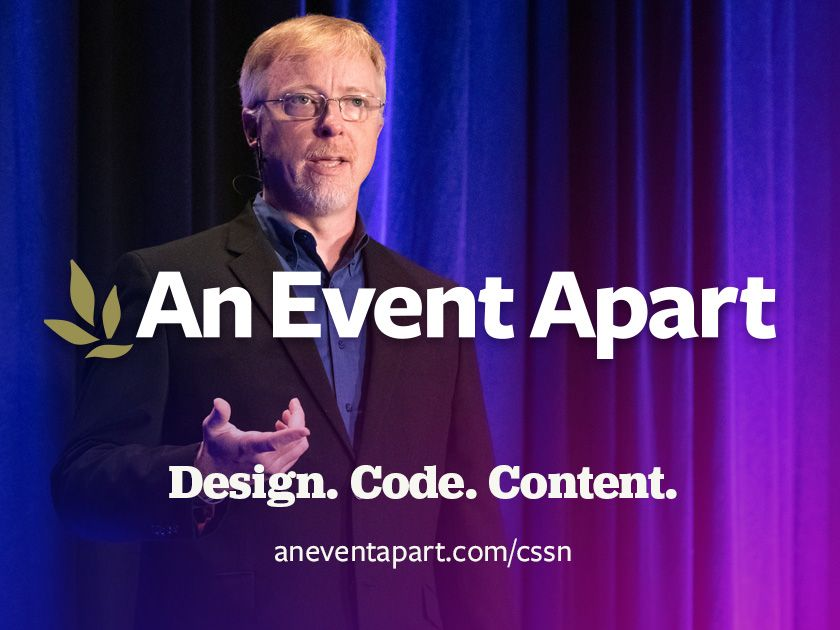 Announcing An Event Apart ... apart!