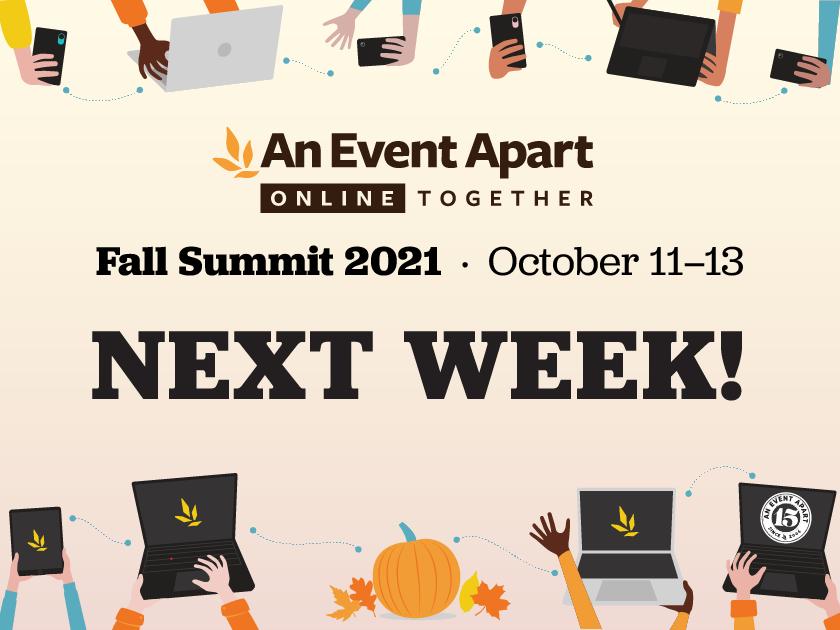 Fall Summit Next Week