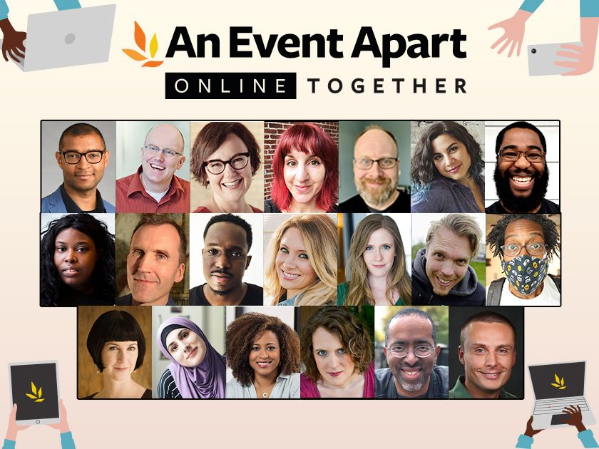 Articles, Links, and Tools from An Event Apart Online Together: Fall Summit